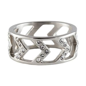 Picture of Silver Chevron Ring - Size 7